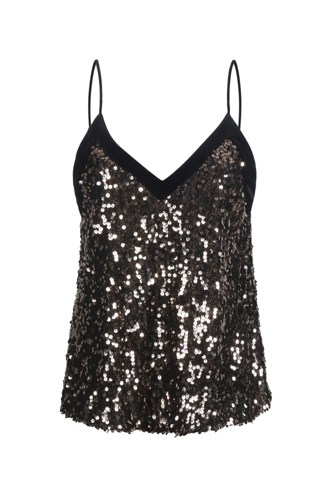 Top con paillettes Paperlace regali natale 2018