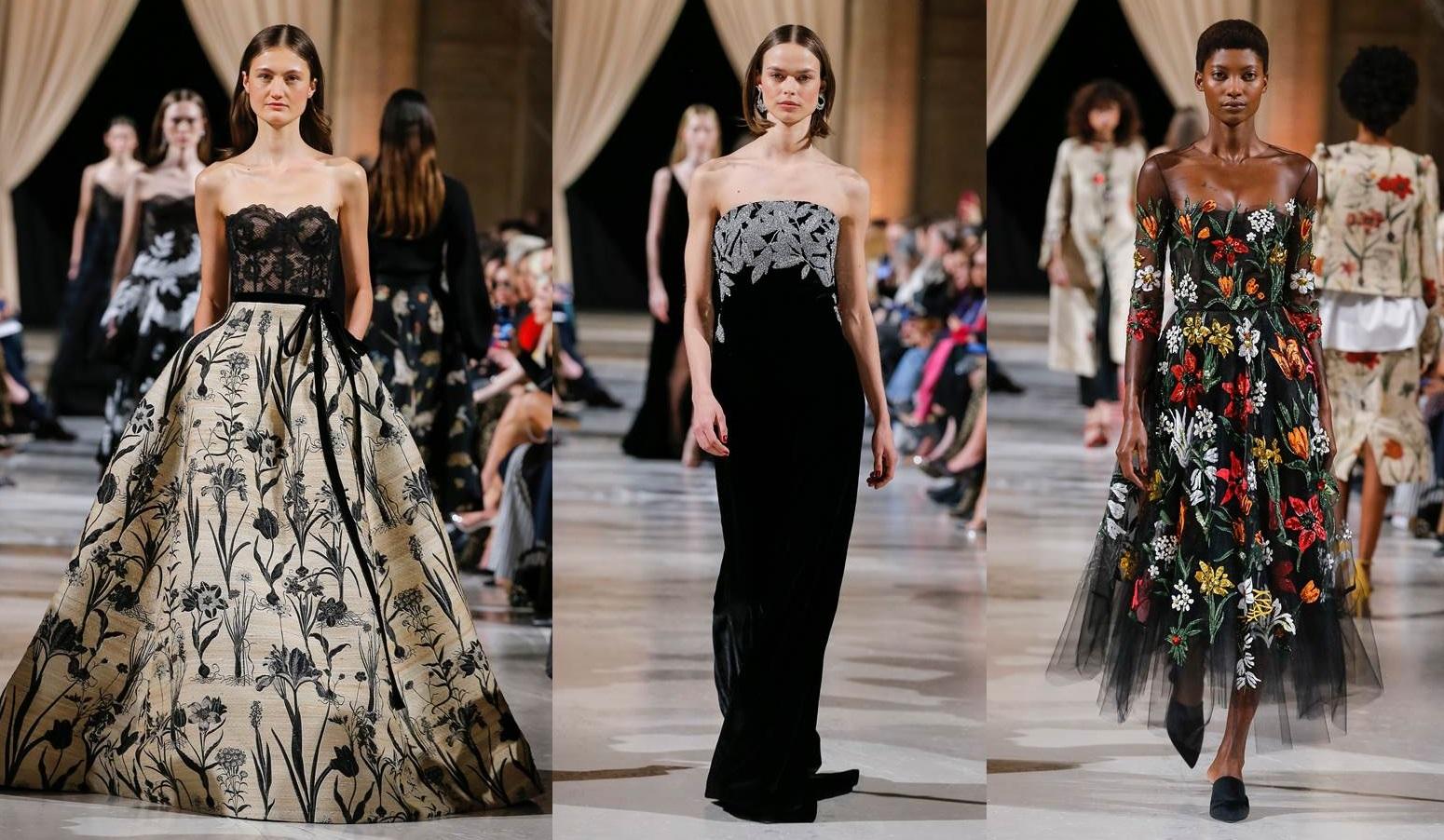 Vestiti Cerimonia Haute Couture.Abiti Da Cerimonia Oscar De La Renta 2018 2019 La Nuova