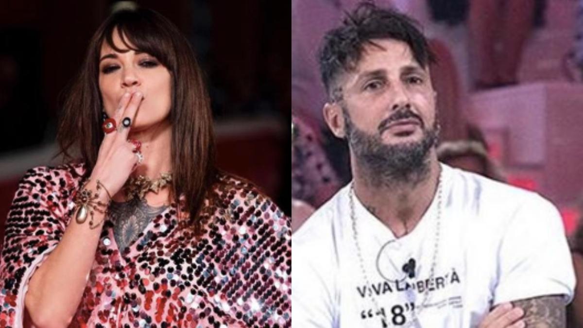Fabrizio Corona e Asia Argento, il bacio bollente scatena il gossip