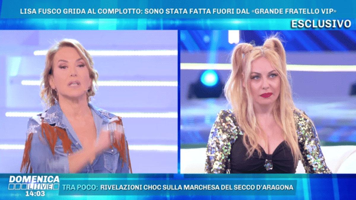 Lisa Fusco contro la Marchesa D'Aragona: 'Ha comprato la laurea'