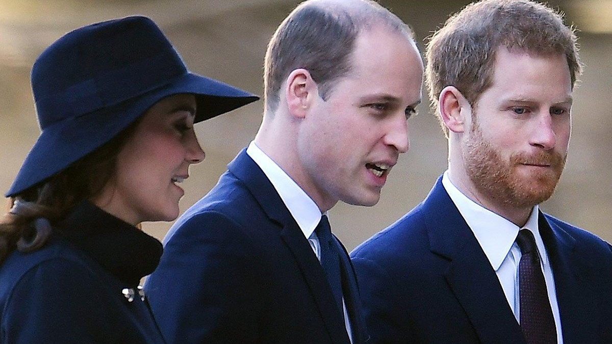 William e Harry ai ferri corti per colpa di Meghan?