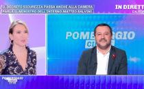 Matteo Salvini a Pomeriggio Cinque: Sono single, ora lasciate in pace Elisa Isoardi