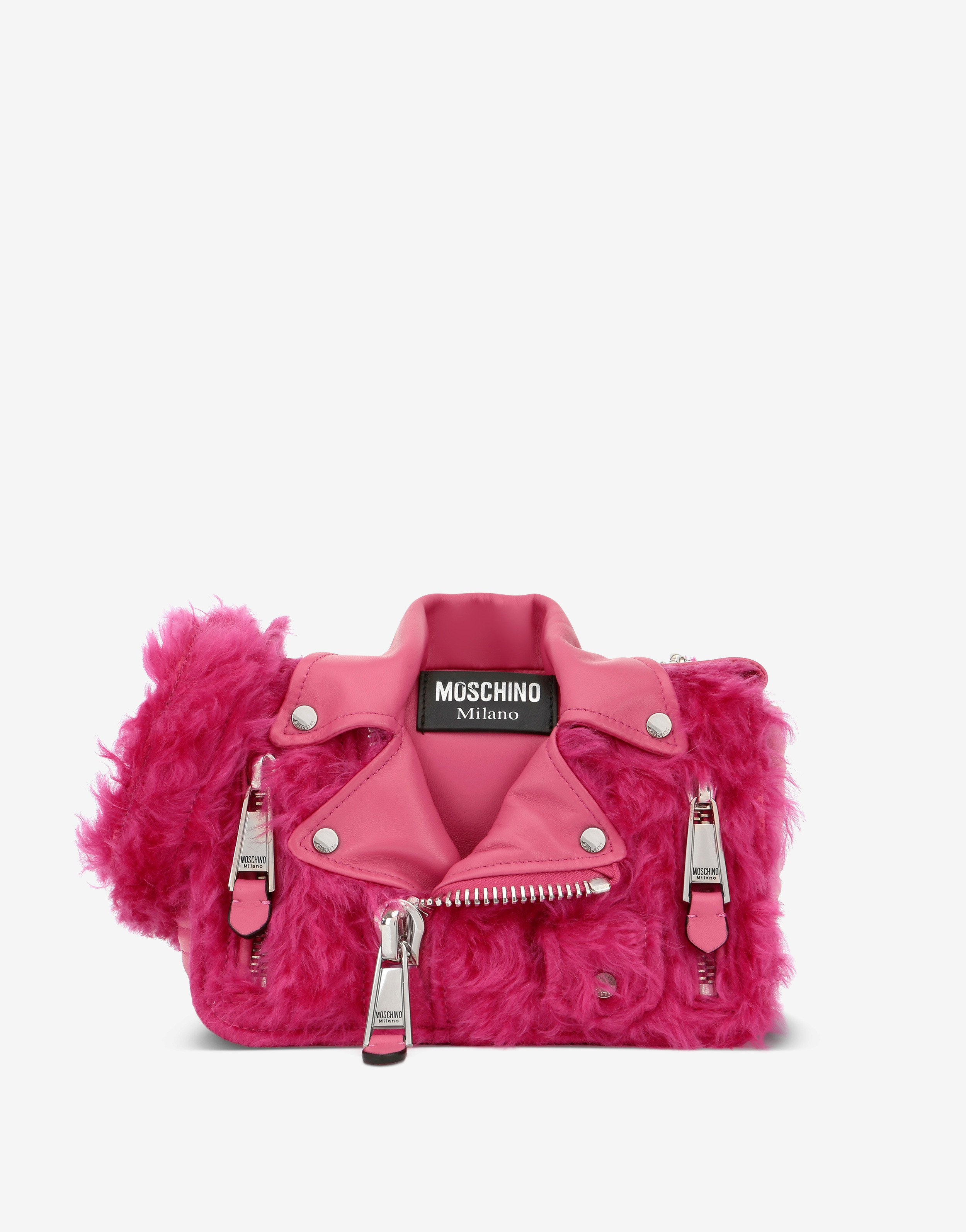 Borsa peluches Moschino in mohair inverno 2019