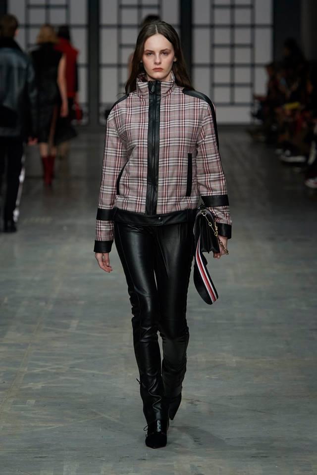 giacca a quadri trussardi