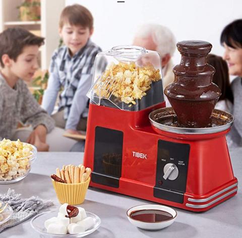 Macchina popcorn cioccolata