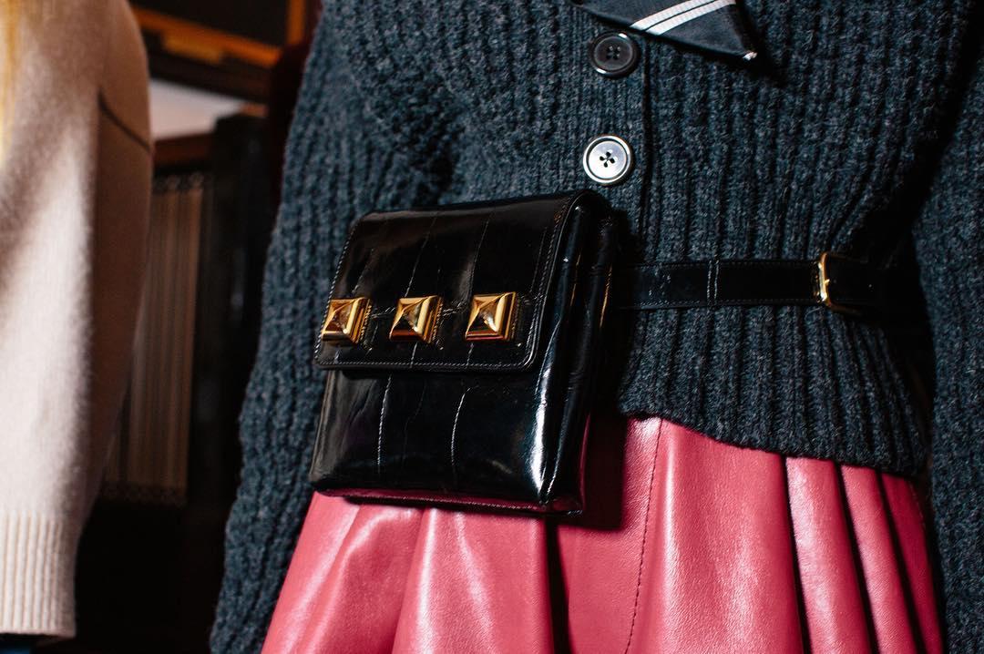 Marsupio con borchie Marc Jacobs