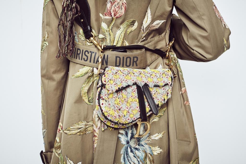 Marsupio ricamato Dior