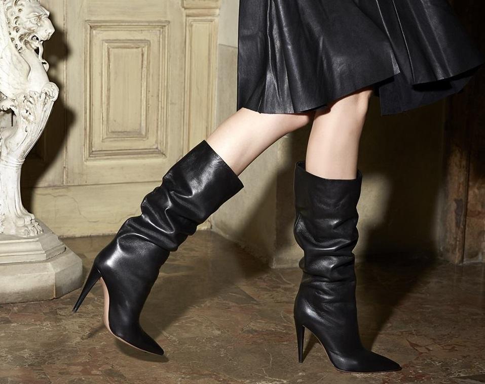 Stivali con tacco inverno 2019