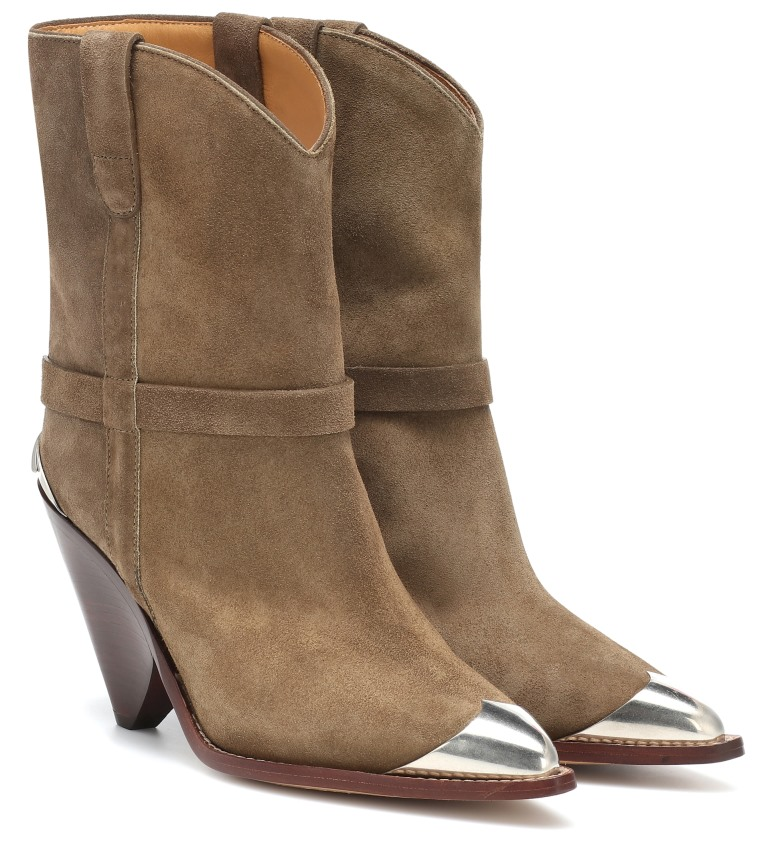 Stivali texani con tacco Isabel Marant