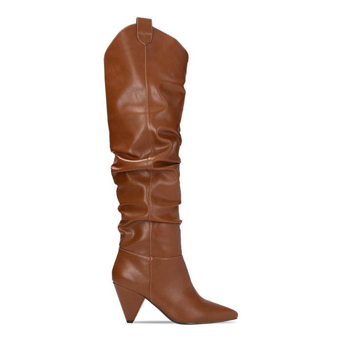 Stivali texani con tacco Primadonna stivali con tacco inverno 2019