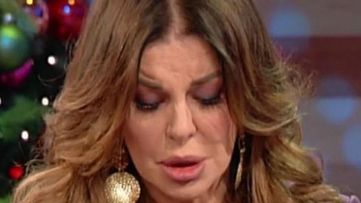 Alba Parietti in lacrime: 'Ho fatto una cosa orribile'