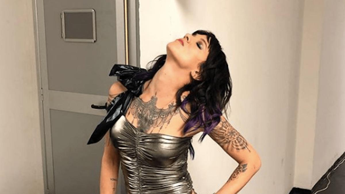 Asia Argento si presenta a sorpresa al concerto di Salmo: la dichiarazione shock