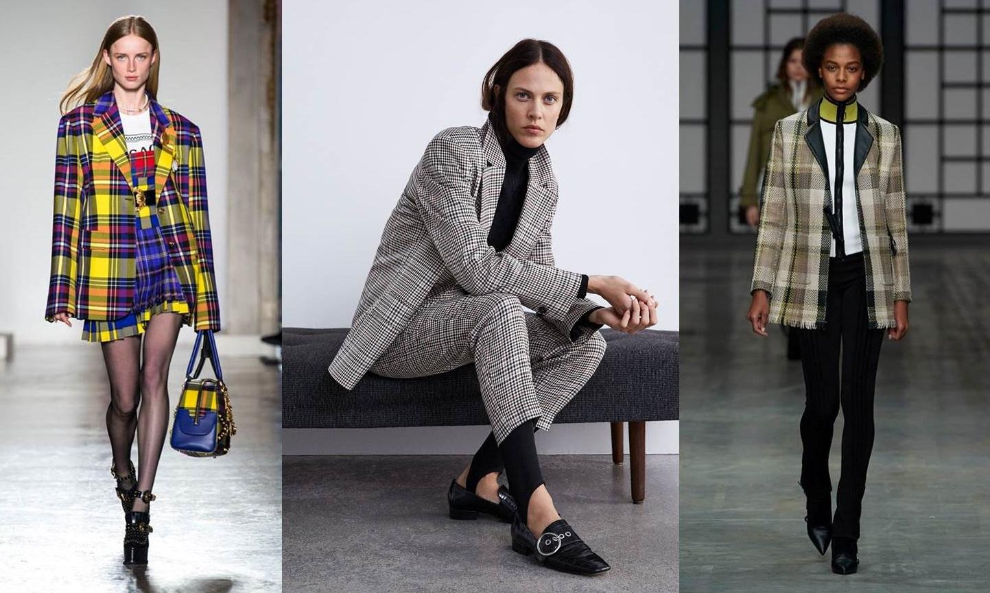 Giacche e blazer a quadri, la tendenza invernale e come abbinarli