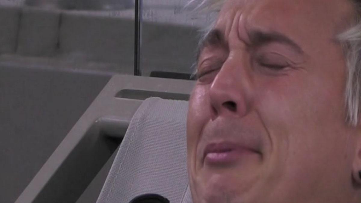 GF Vip 3: incidente per Andrea Mainardi, sospetta frattura prima della finale