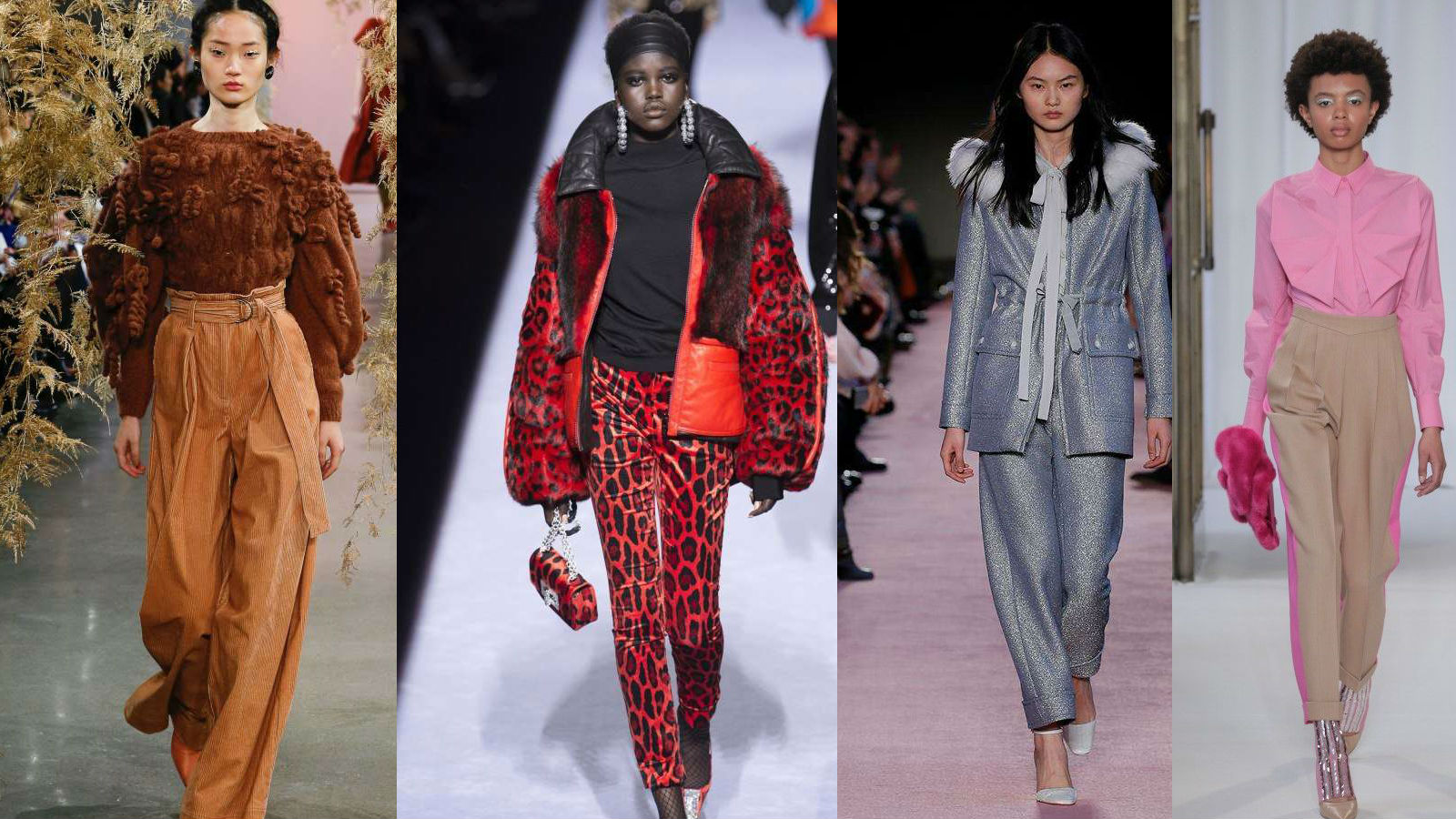 I pantaloni più cool dell'inverno: le tendenze che indosseremo nel 2019