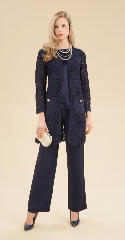 brand new ec053 ba258 Abiti da cerimonia con pantaloni: tailleur, completi e non ...