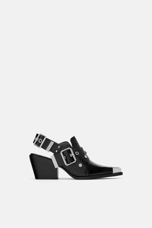 Ankle boot a punta Zara a 69,95 euro