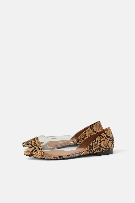 81f15e3a465cb2 Scarpe Zara Primavera 2019: tronchetti a punta, sandali fluo e ...