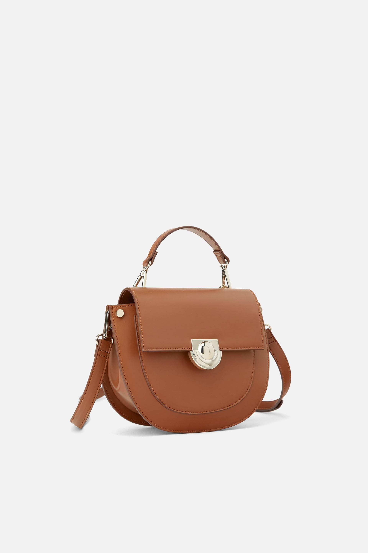 Borsa a tracolla effetto vintage Zara a 39,95 euro