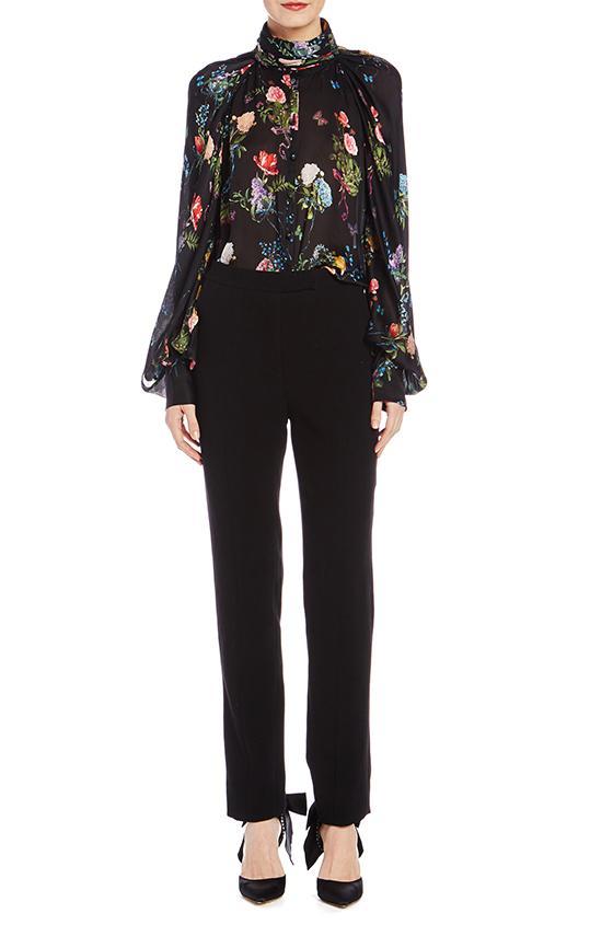 Completo con pantaloni per signora Monique Lhuillier