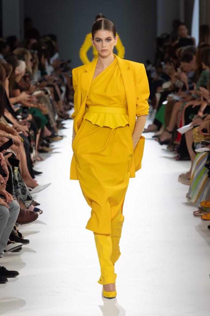 Completo giallo Max Mara