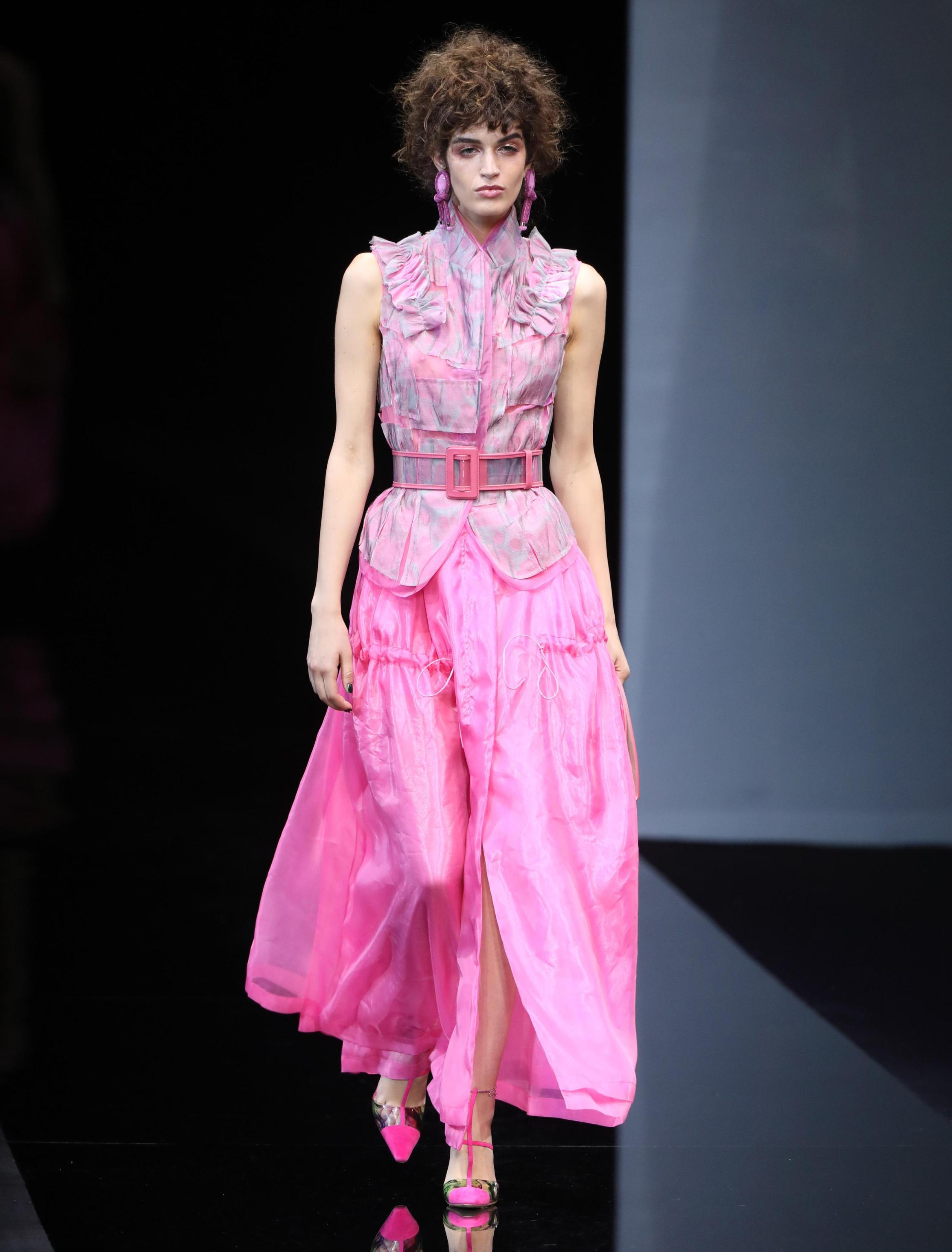 Completo rosa baby Giorgio Armani