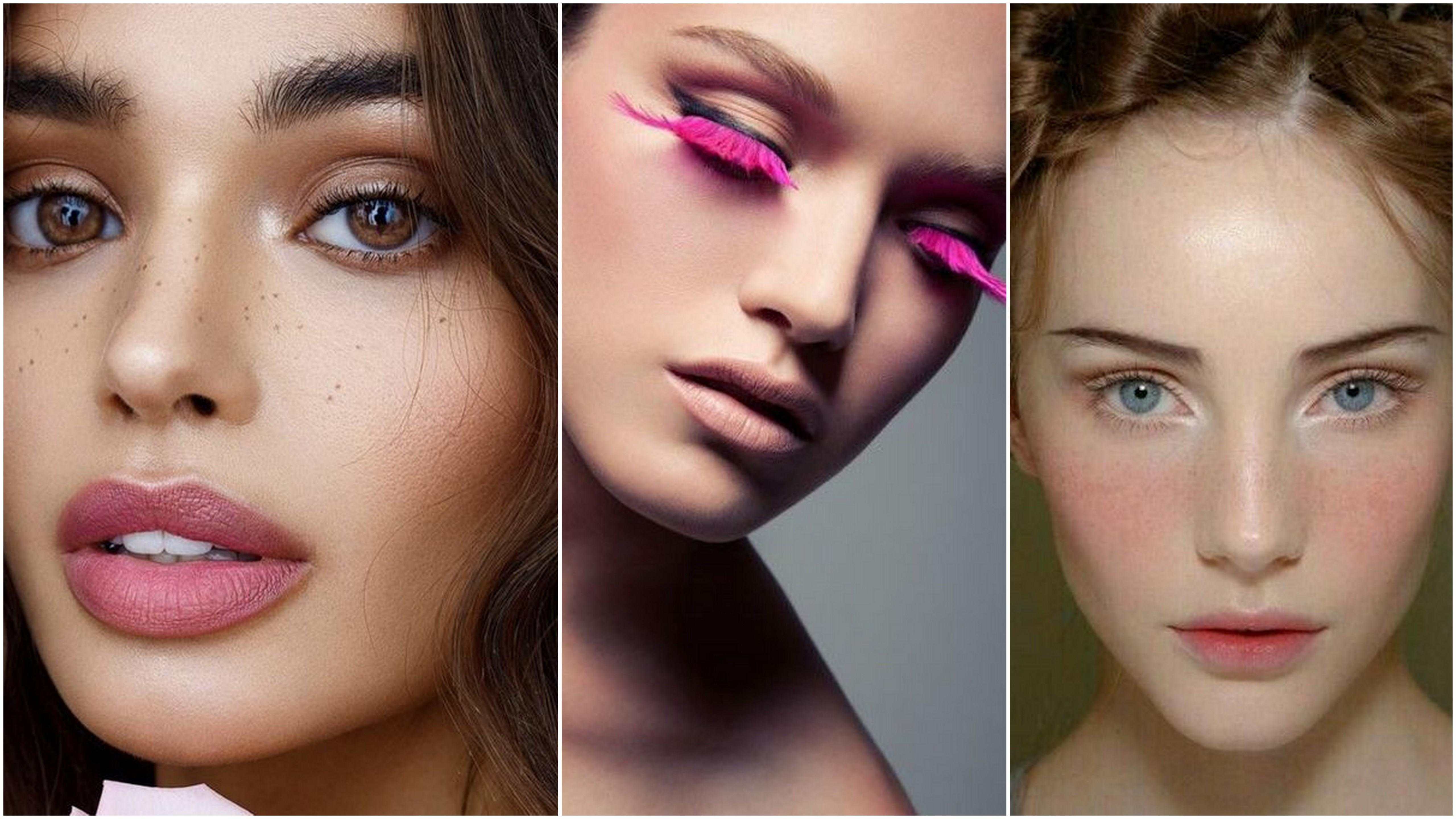 Trucco rosa: il make-up romantico per viso, occhi e labbra