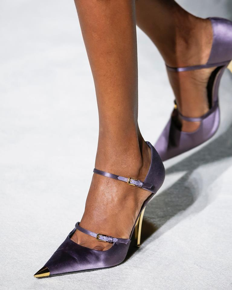 Scarpe con tacco a punta Tom Ford
