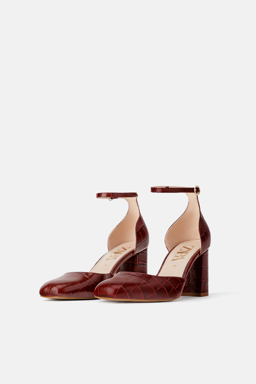 Scarpe con tacco largo Zara a 59,95 euro