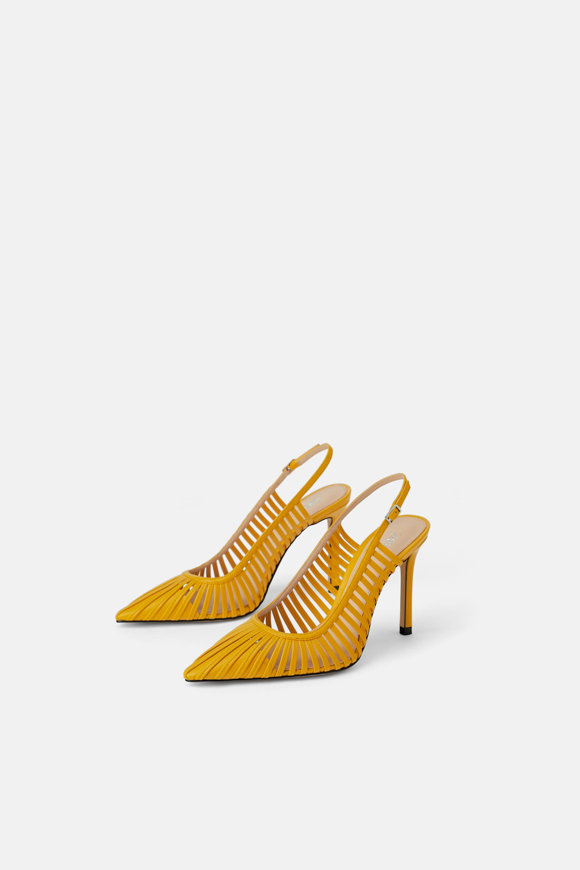 Scarpe slingback a punta Zara a 49,95 euro