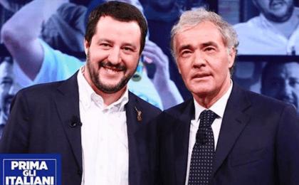 Matteo Salvini contro Fabio Fazio: 'Poverino, guadagna poco'