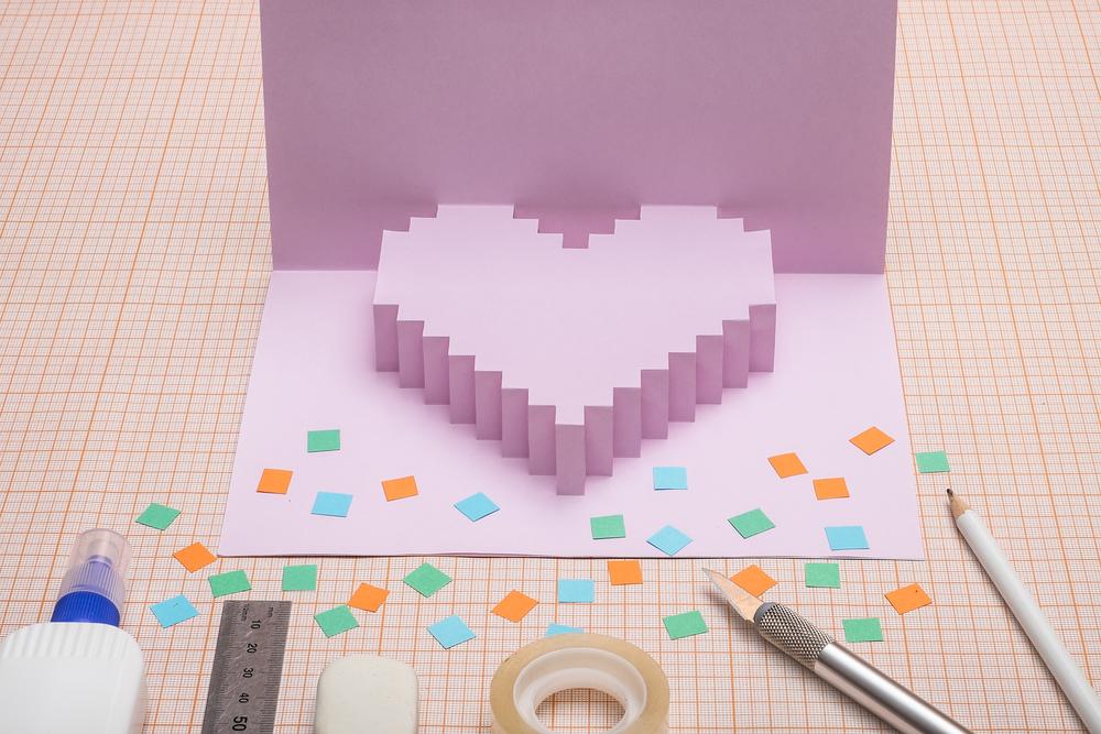 Biglietti di San Valentino pop up, le idee più belle