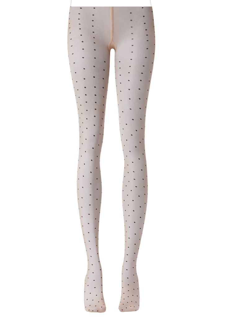 Collant a pois color nude Calzedonia