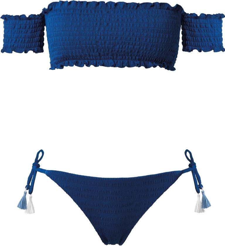Costume a fascia blu Calzedonia