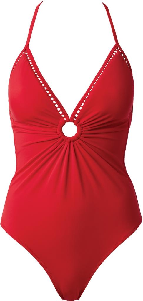 Costume rosso intero Calzedonia