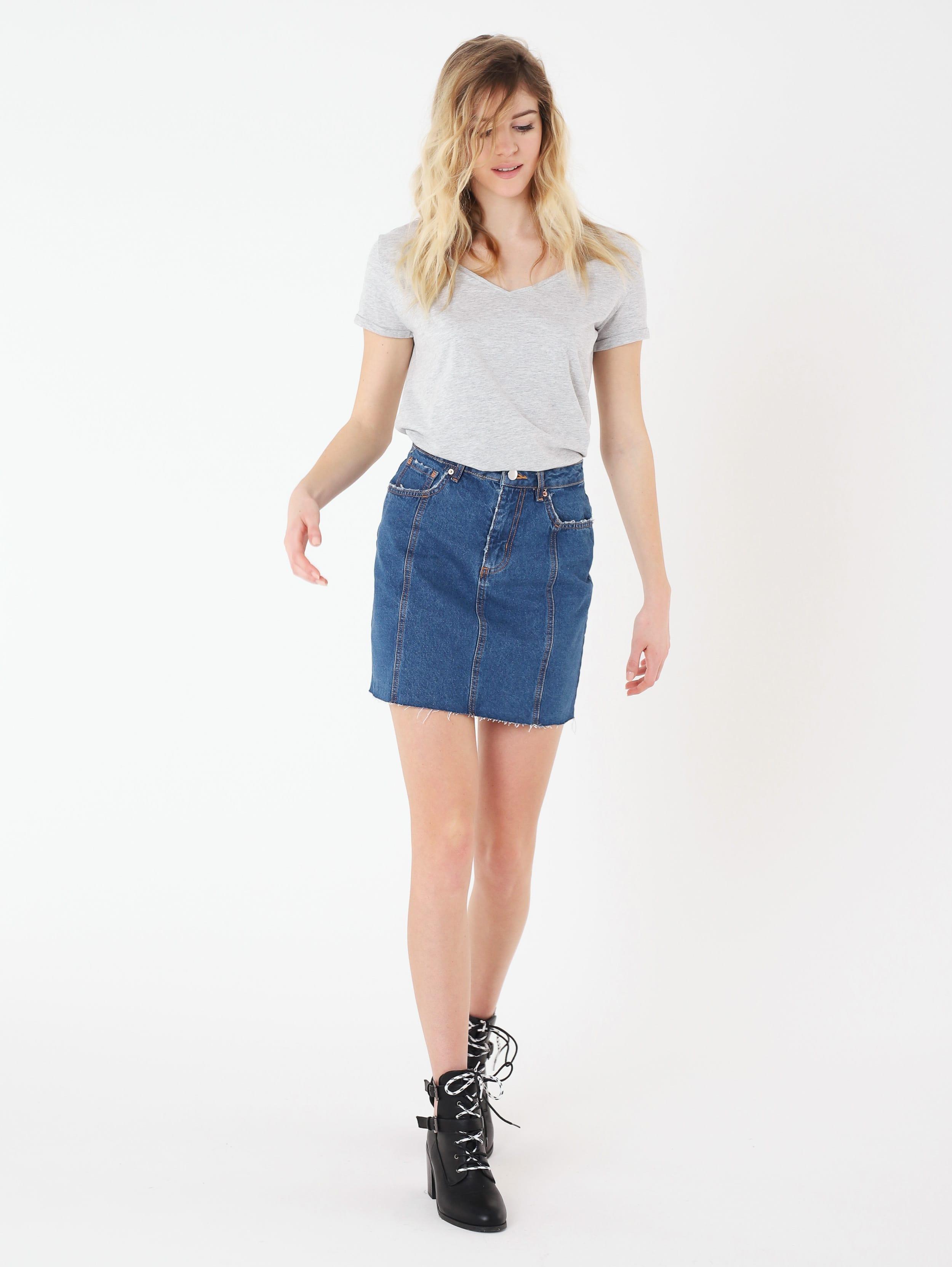 Gonna di jeans Terranova a 15,99 euro