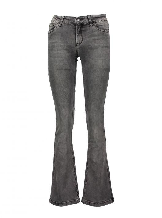 Jeans a zampa grigi a 19,95 euro