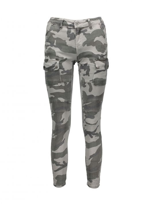 Jeans cargo camouflage Piazza Italia a 19,95 euro