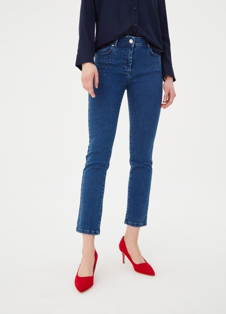 Jeans con borchie e perle OVS a 29,99 euro