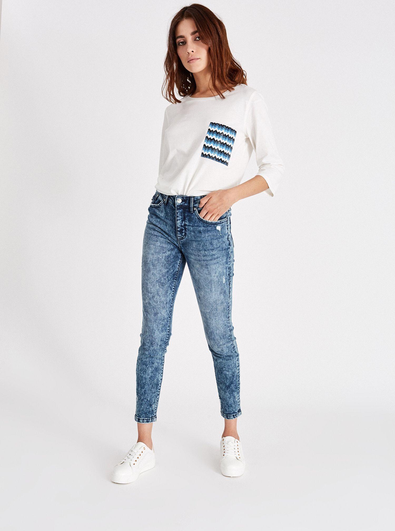 Jeans skinny Piazza Italia a 19,95 euro