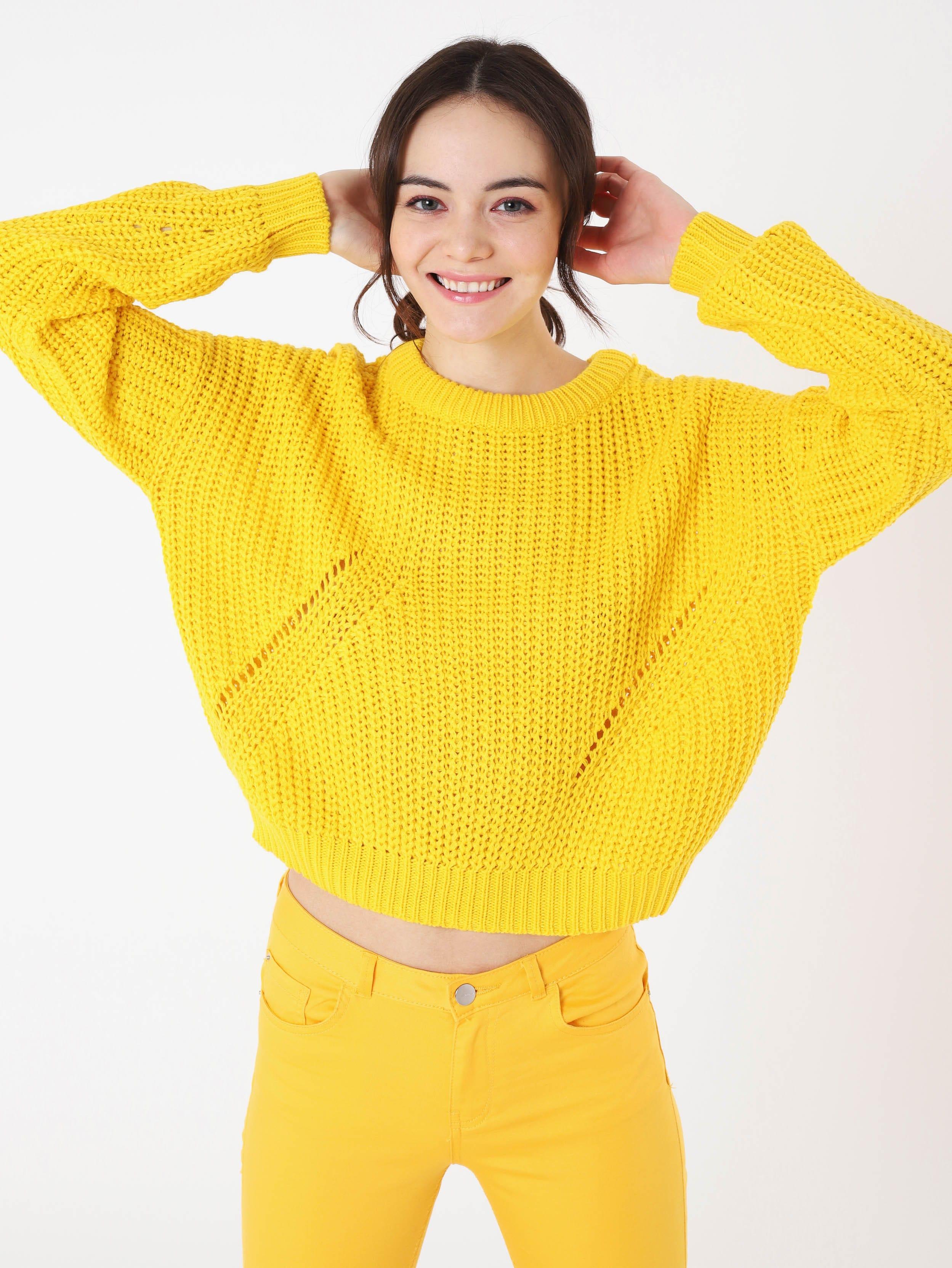Maglione giallo Terranova a 17,99 euro