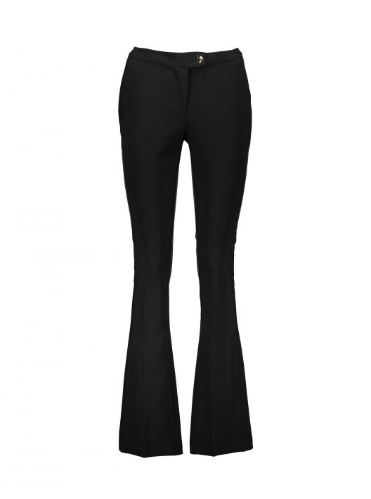 Pantaloni a zampa neri a 24,95 euro