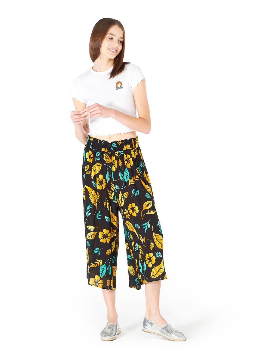 Pantaloni culotte a fiori Alcott a 15,95 euro