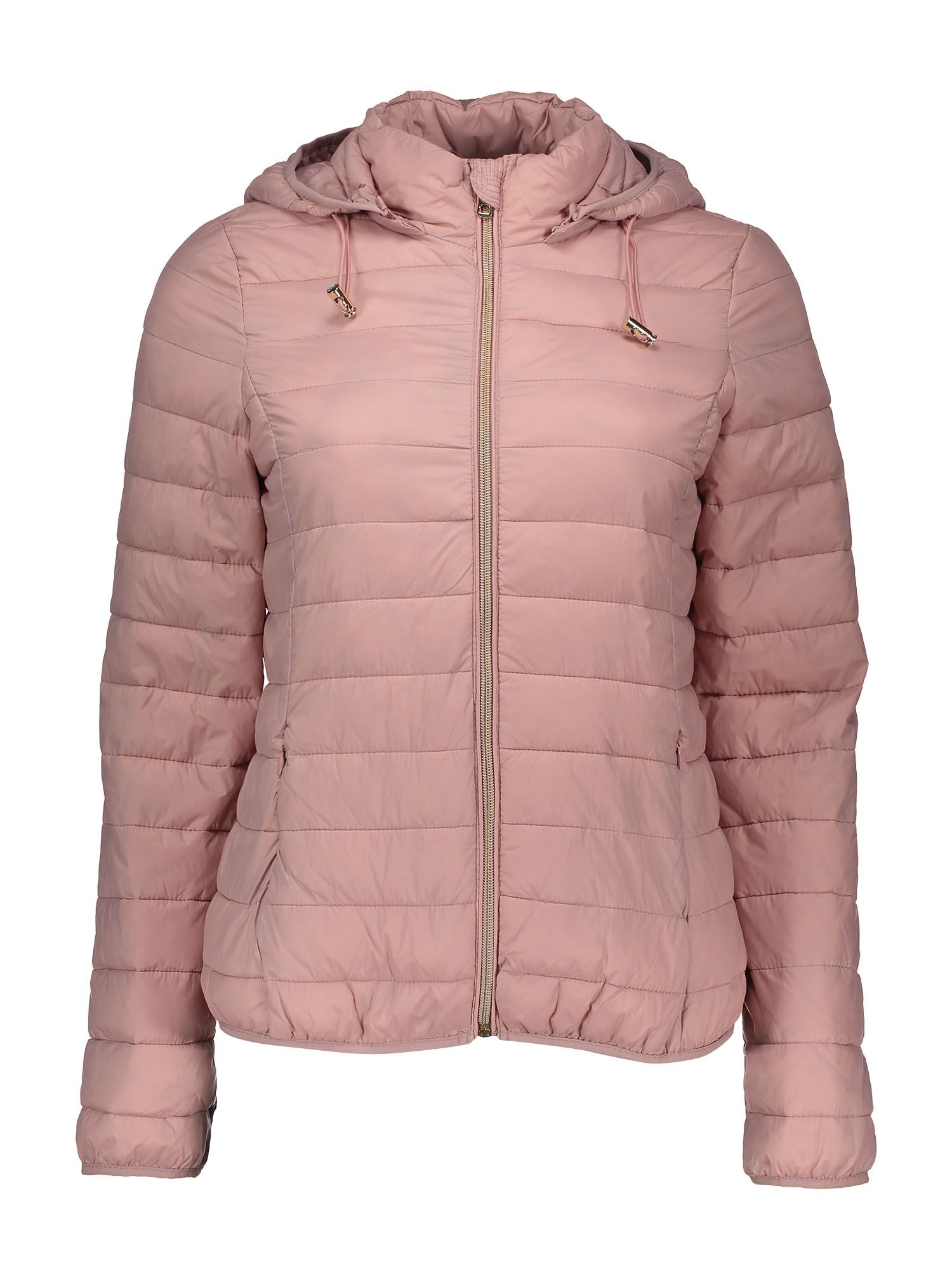 Piumino rosa con cappuccio a 19,95 euro