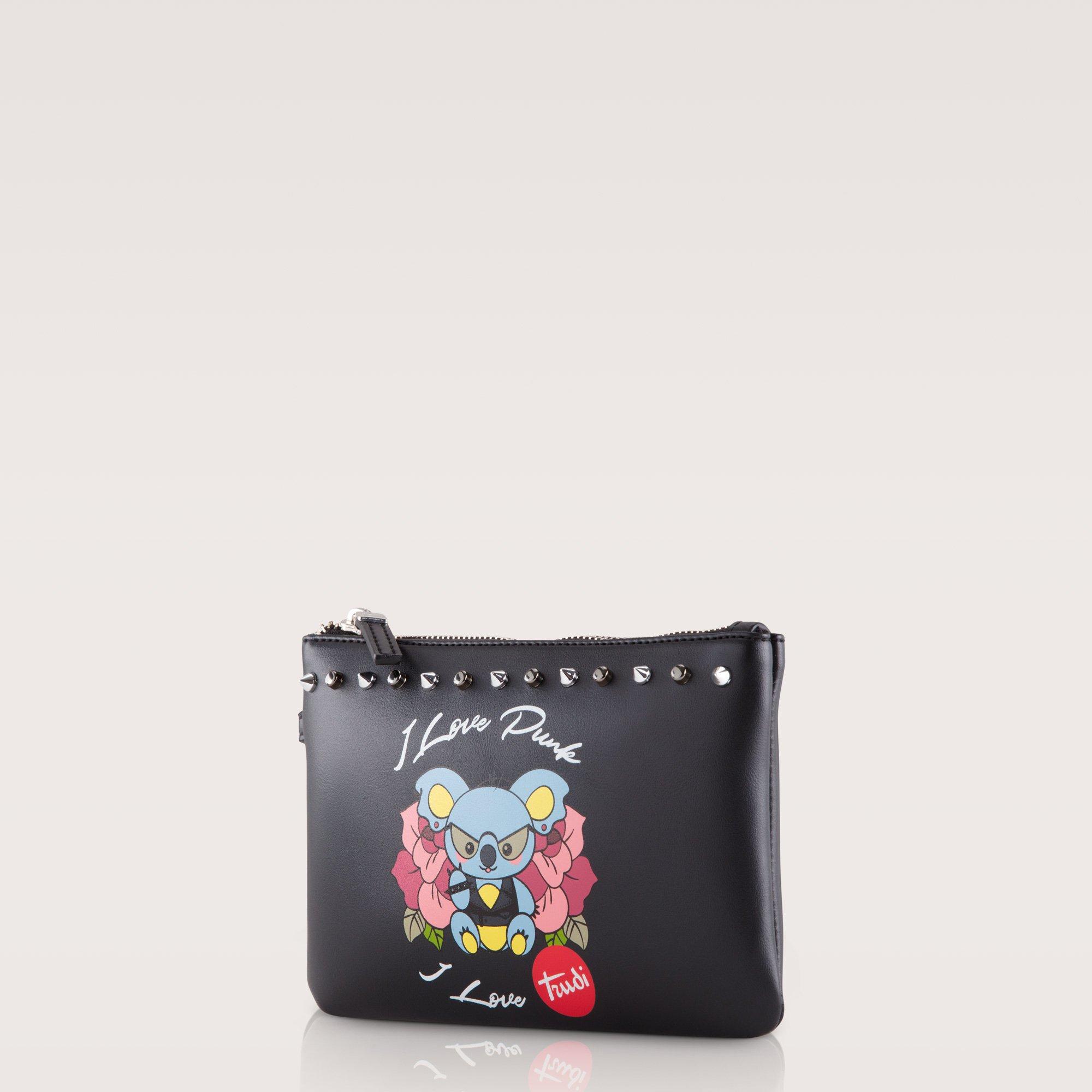 Pochette con borchie Carpisa a 10,95 euro
