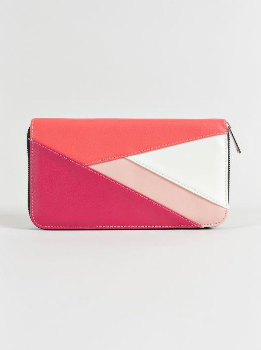 Portafoglio rosa Piazza Italia a 12,95 euro