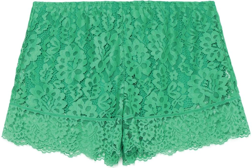 Shorts in pizzo verde Tezenis