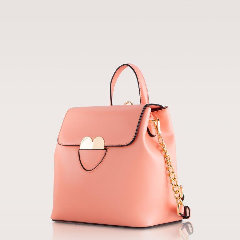 Zaino rosa con cuore Carpisa a 29,95 euro