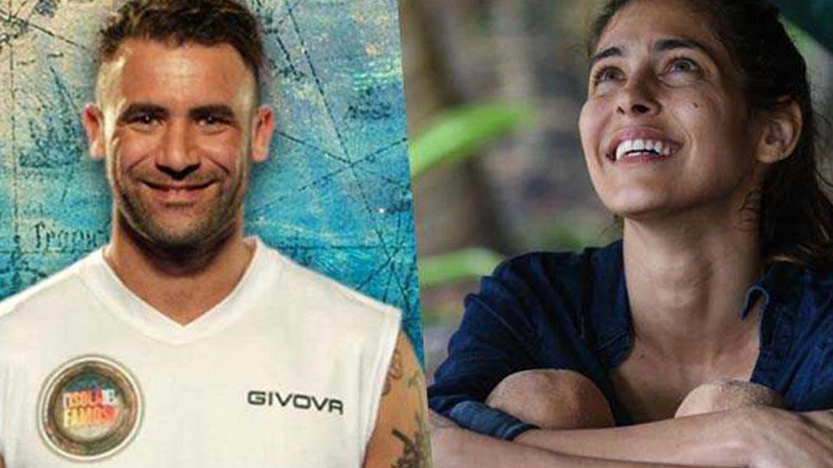 Isola dei Famosi: bacio tra Ariadna Romero e Ghezzal, è amore?