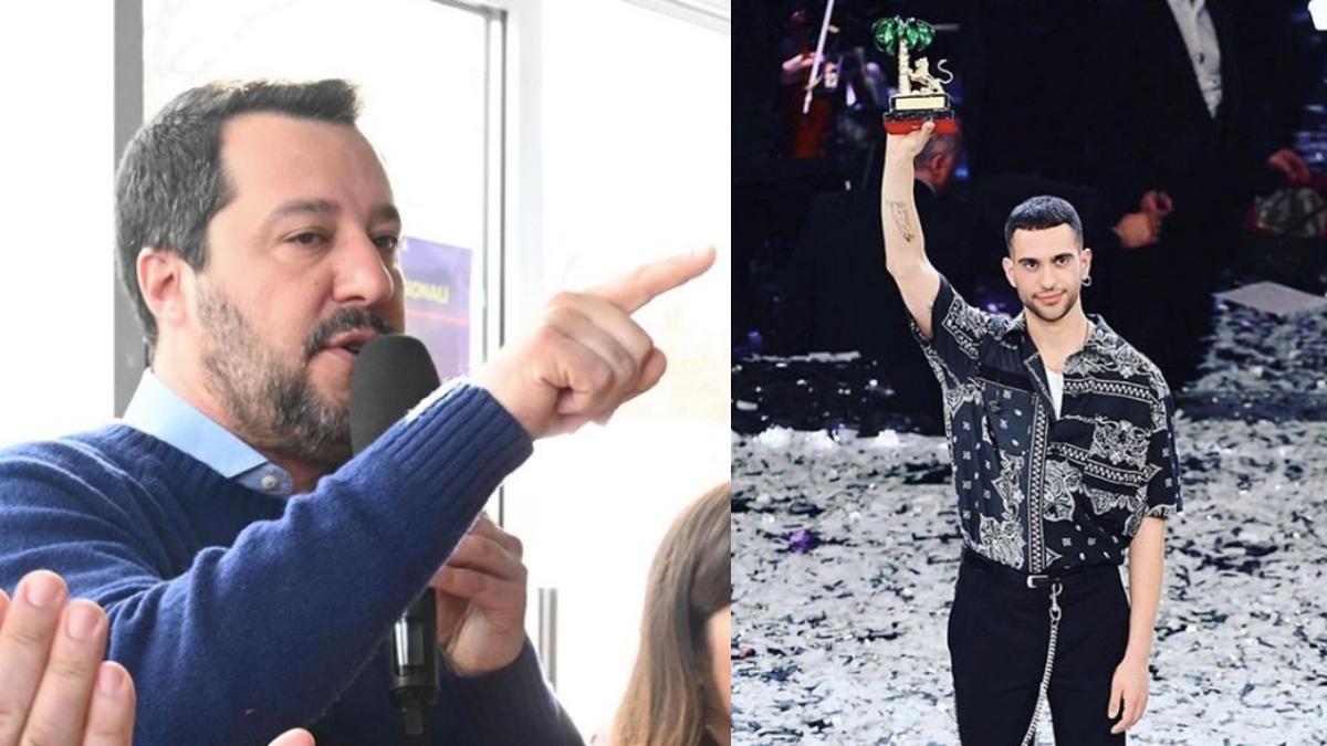Sanremo 2019, Matteo Salvini si sfoga sulla vittoria di Mahmood